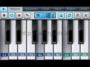 ساخت موسیقی با گوشی تلفن همراه